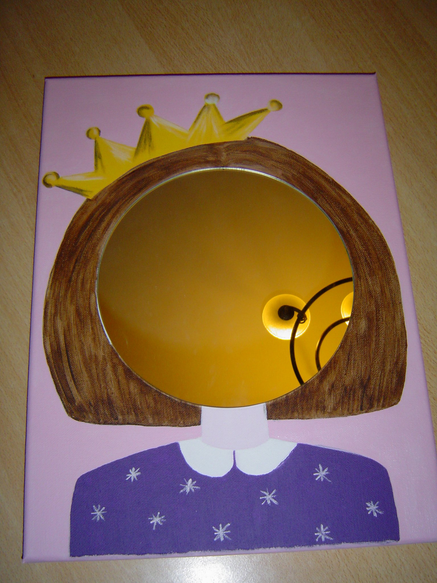 Miroirs filles gar ons couleurs d 39 enfants retrouvez for Miroir fille
